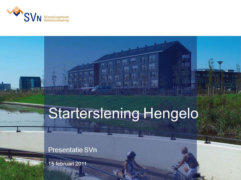Starterslening Hengelo