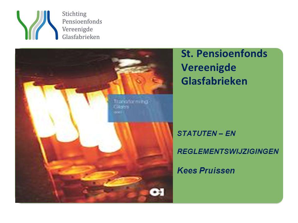 Stichting St. St. Pensioenfonds Vereenigde Glasfabrieken