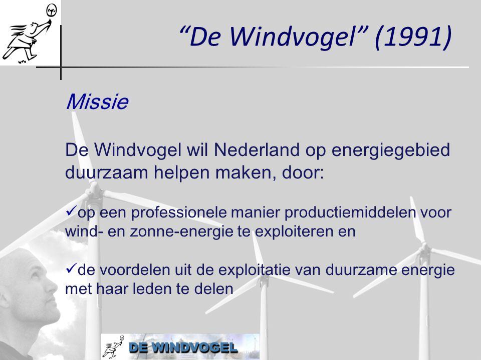De Windvogel (1991) Missie