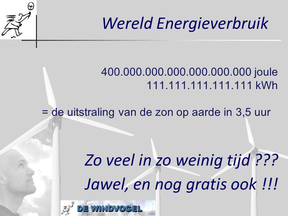 Wereld Energieverbruik