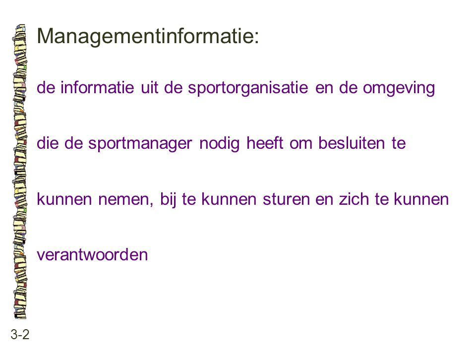 Managementinformatie: