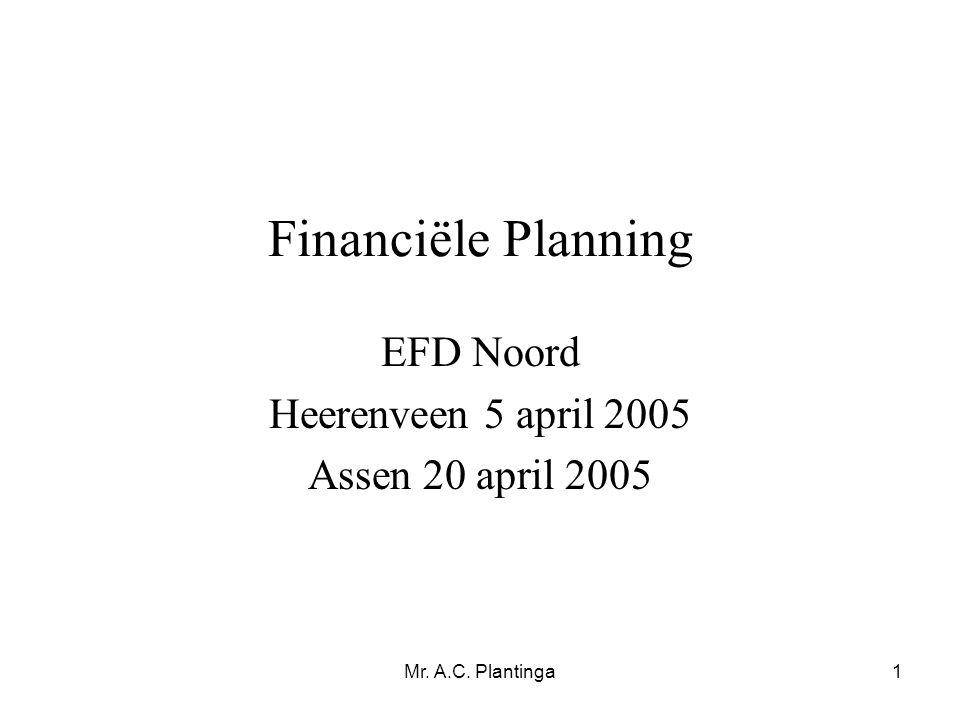 EFD Noord Heerenveen 5 april 2005 Assen 20 april 2005