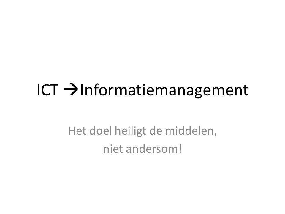 ICT Informatiemanagement