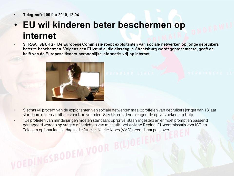 EU wil kinderen beter beschermen op internet