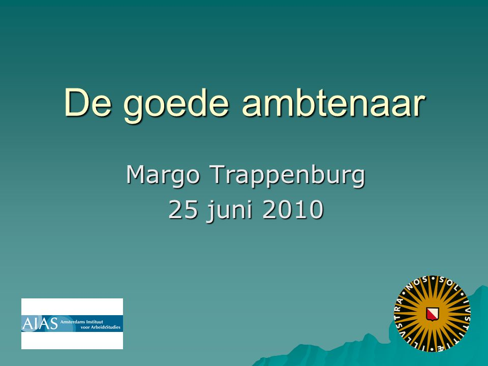 Margo Trappenburg 25 juni 2010