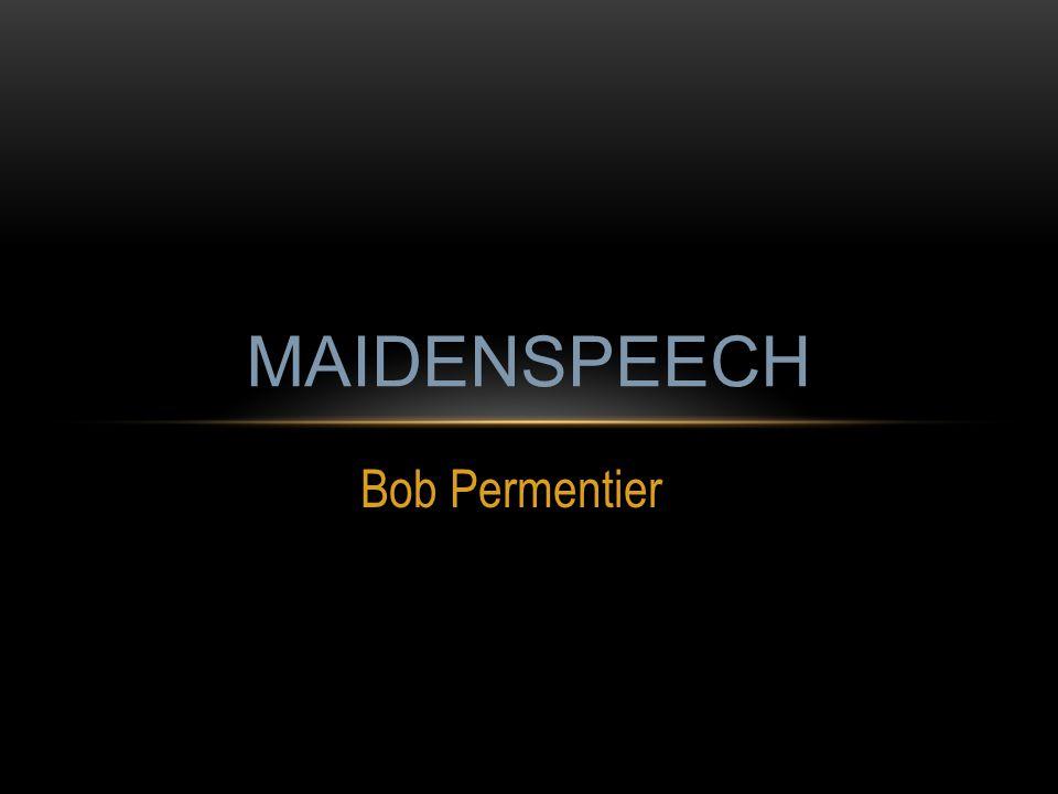 MAIDENSPEECH Bob Permentier