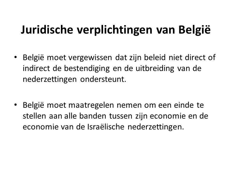 Juridische verplichtingen van België