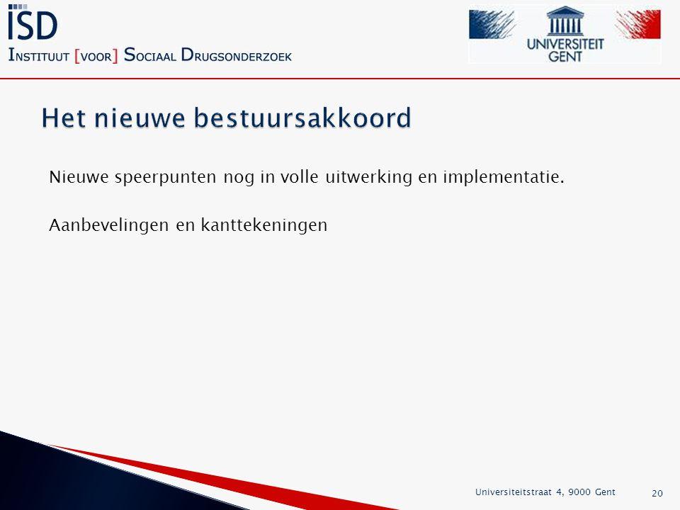 Het nieuwe bestuursakkoord