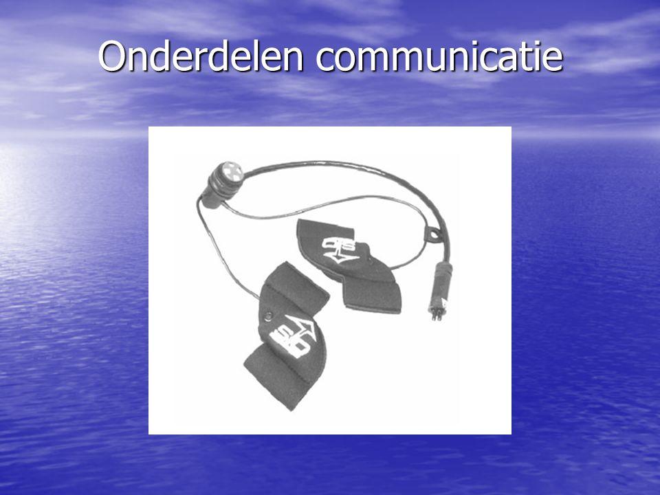 Onderdelen communicatie