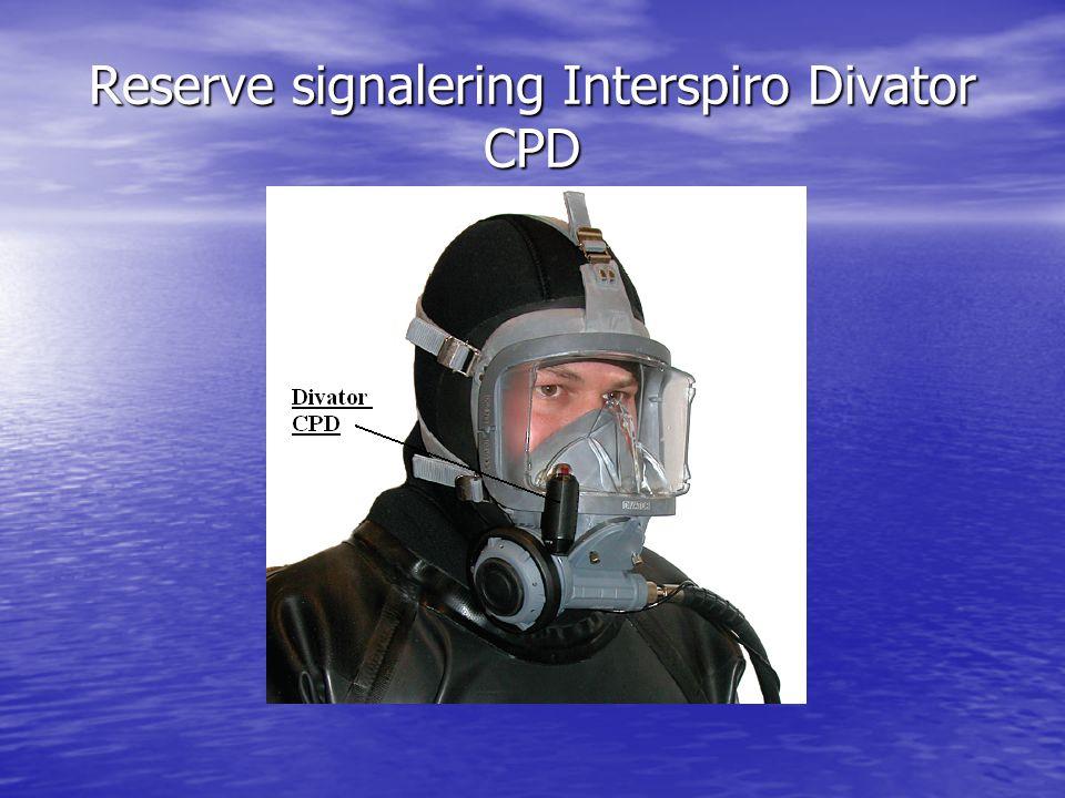 Reserve signalering Interspiro Divator CPD