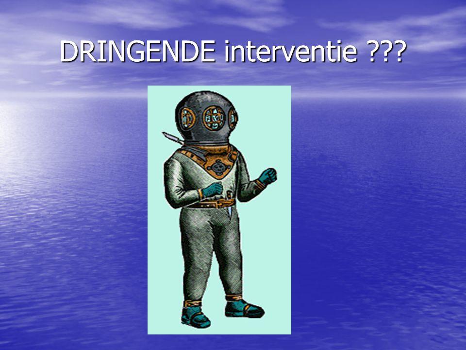 DRINGENDE interventie