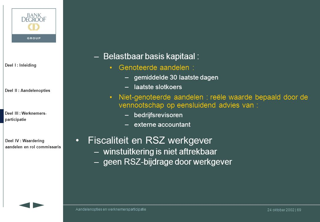 Fiscaliteit en RSZ werkgever