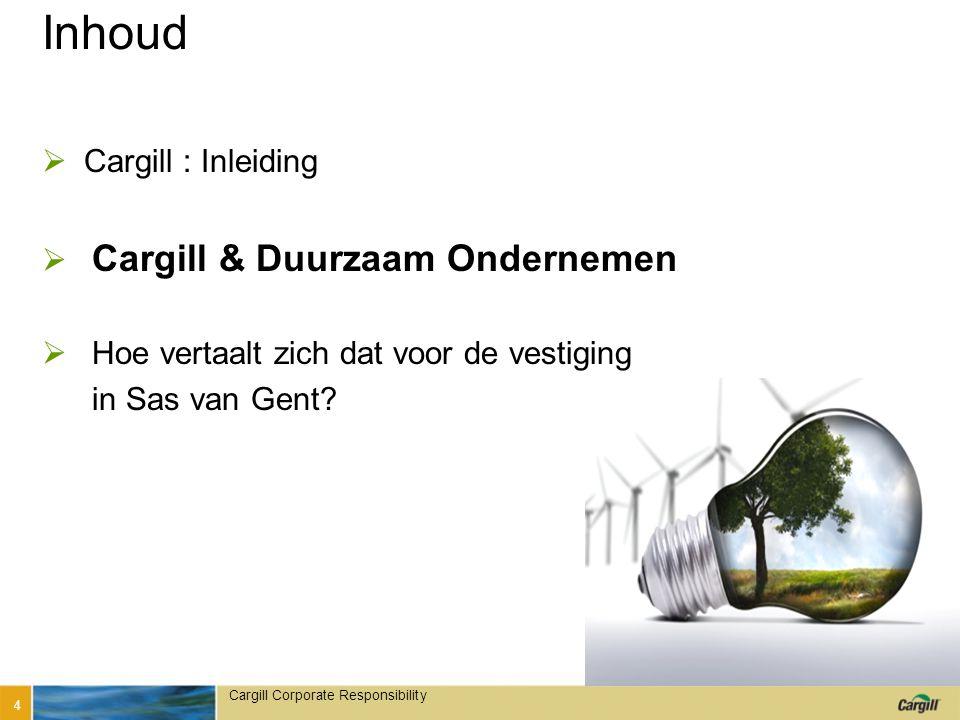 in 4 verbintenissen Duurzaam Ondernemen vertaalt Cargill