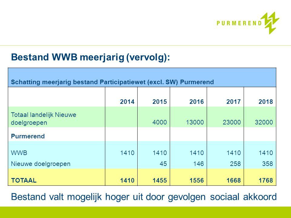 Bestand WWB meerjarig (vervolg):