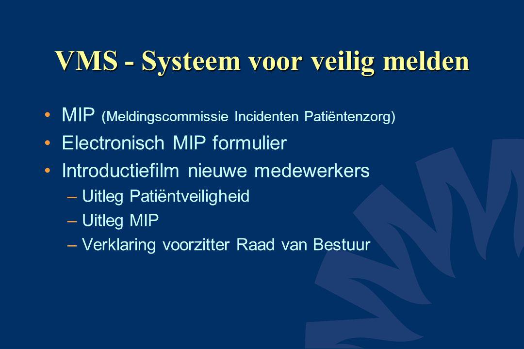 VMS - Systeem voor veilig melden