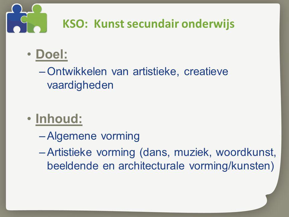 KSO: Kunst secundair onderwijs
