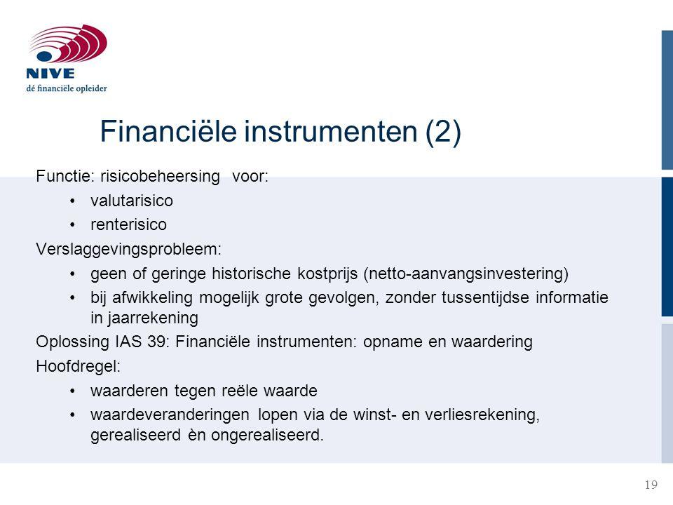 Financiële instrumenten (2)