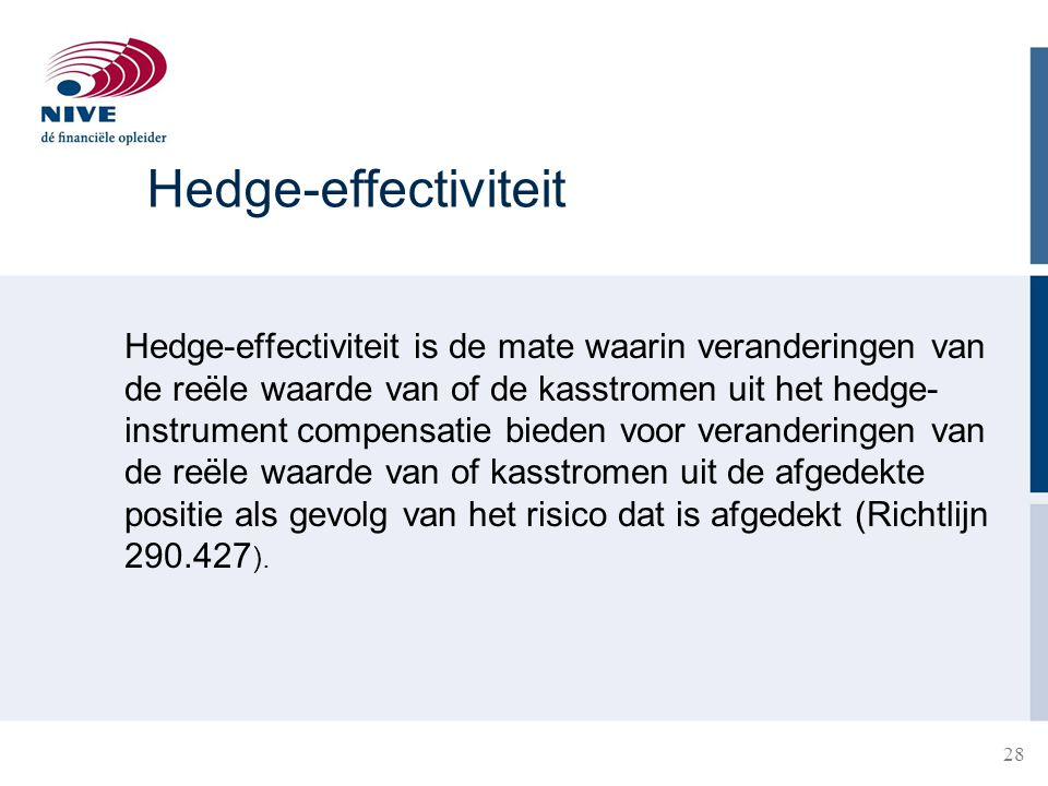 Hedge-effectiviteit