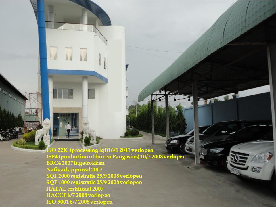 2828 ISO 22K (processing iqf)16/1 2011 verlopen