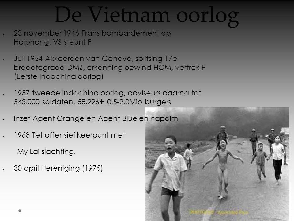 De Vietnam oorlog 23 november 1946 Frans bombardement op Haiphong. VS steunt F.