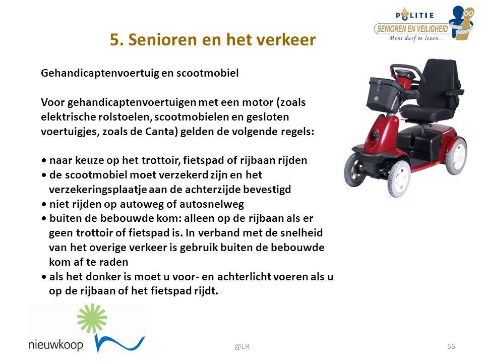 5. Senioren en het verkeer