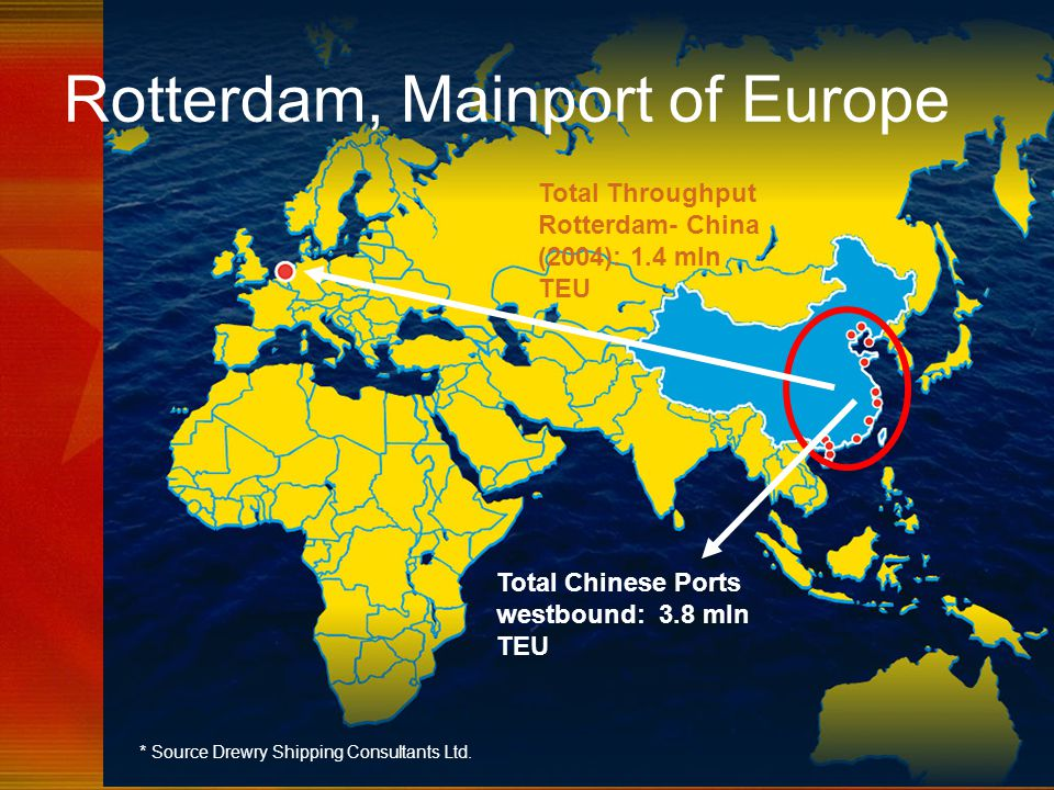 Rotterdam, Mainport of Europe