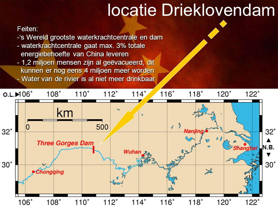 locatie Drieklovendam