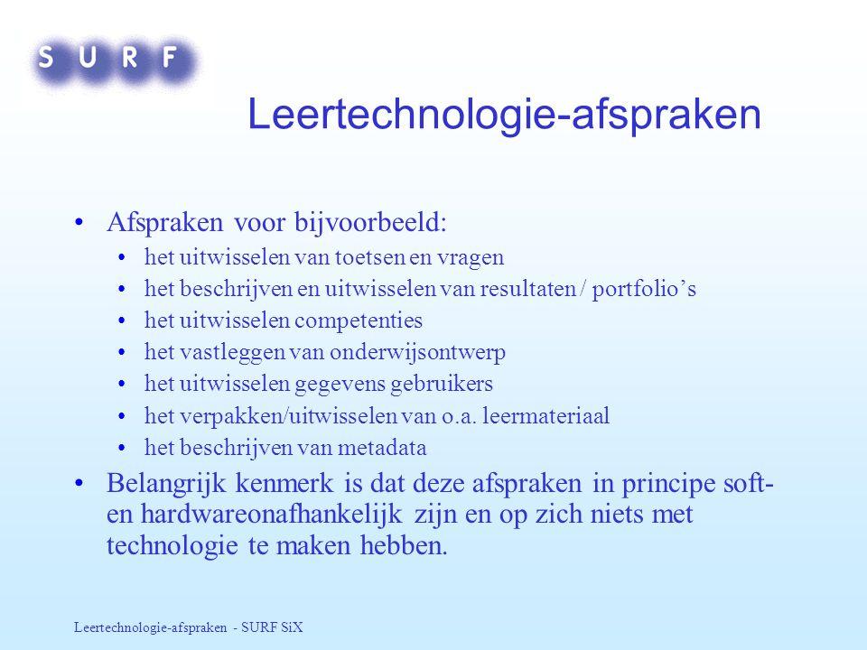 Leertechnologie-afspraken