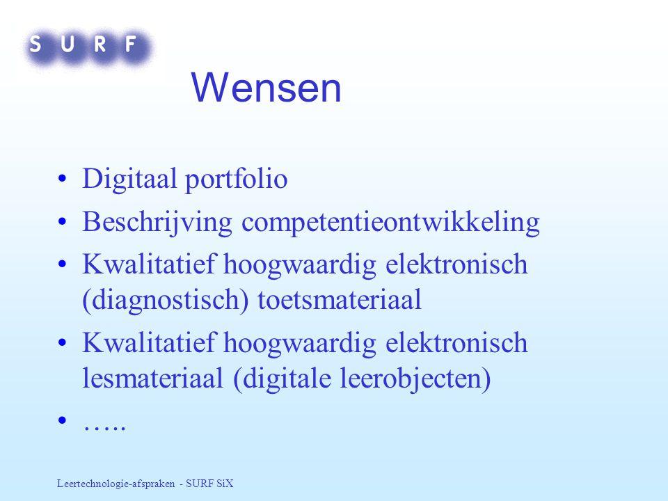 Wensen Digitaal portfolio Beschrijving competentieontwikkeling