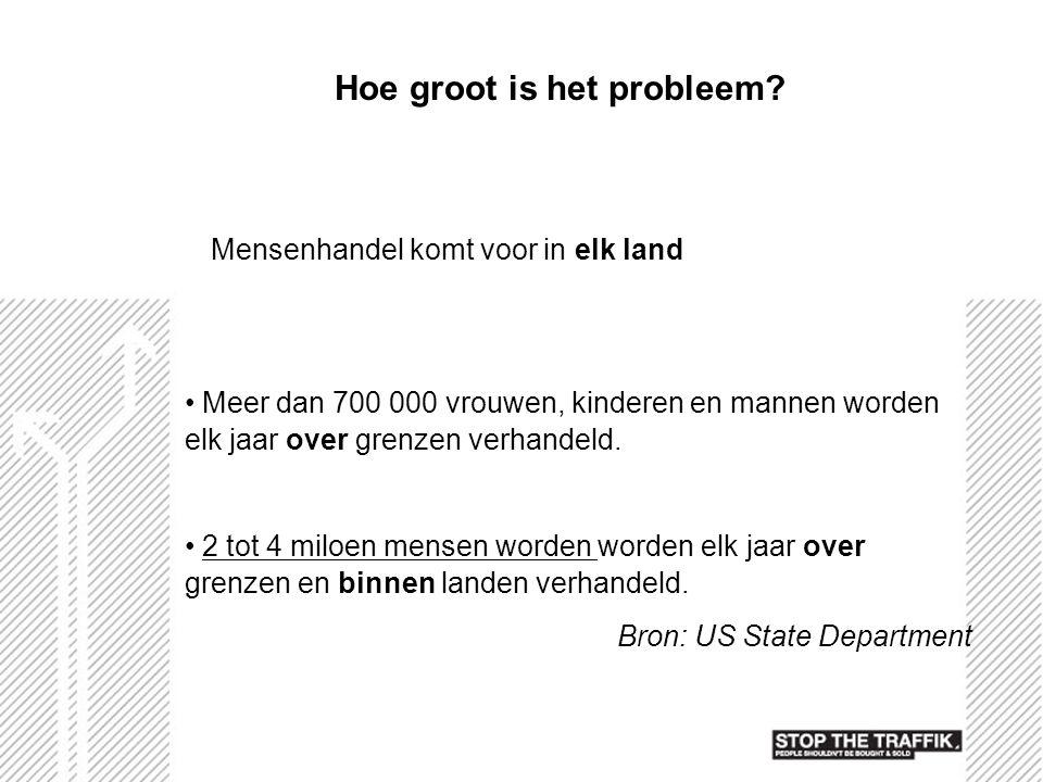 Hoe groot is het probleem