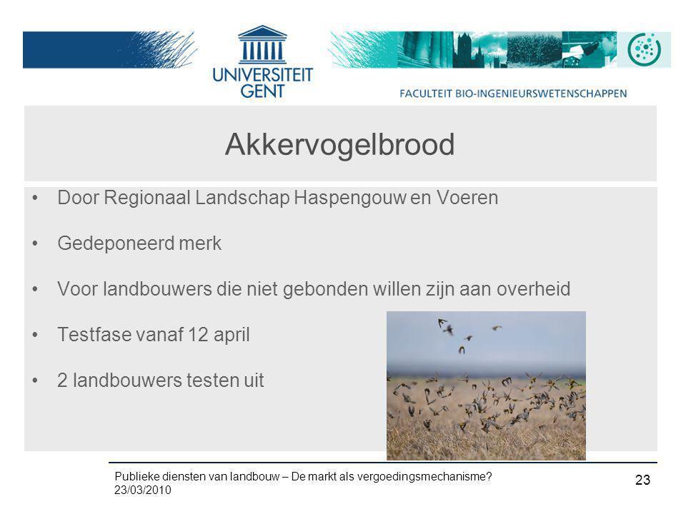 Akkervogelbrood Door Regionaal Landschap Haspengouw en Voeren