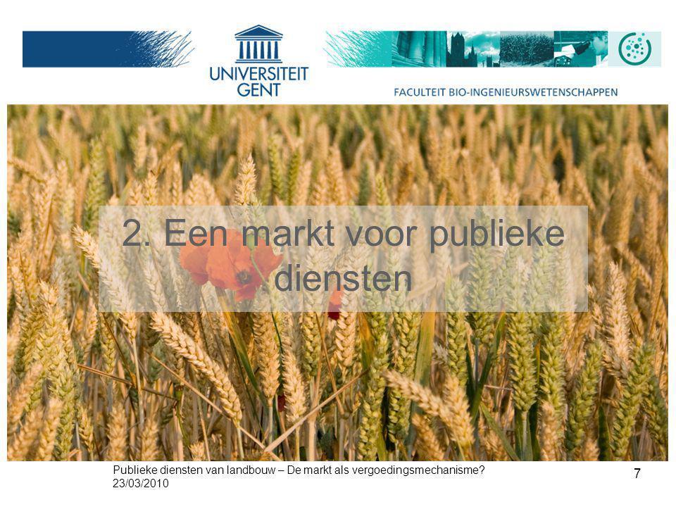 2. Een markt voor publieke diensten