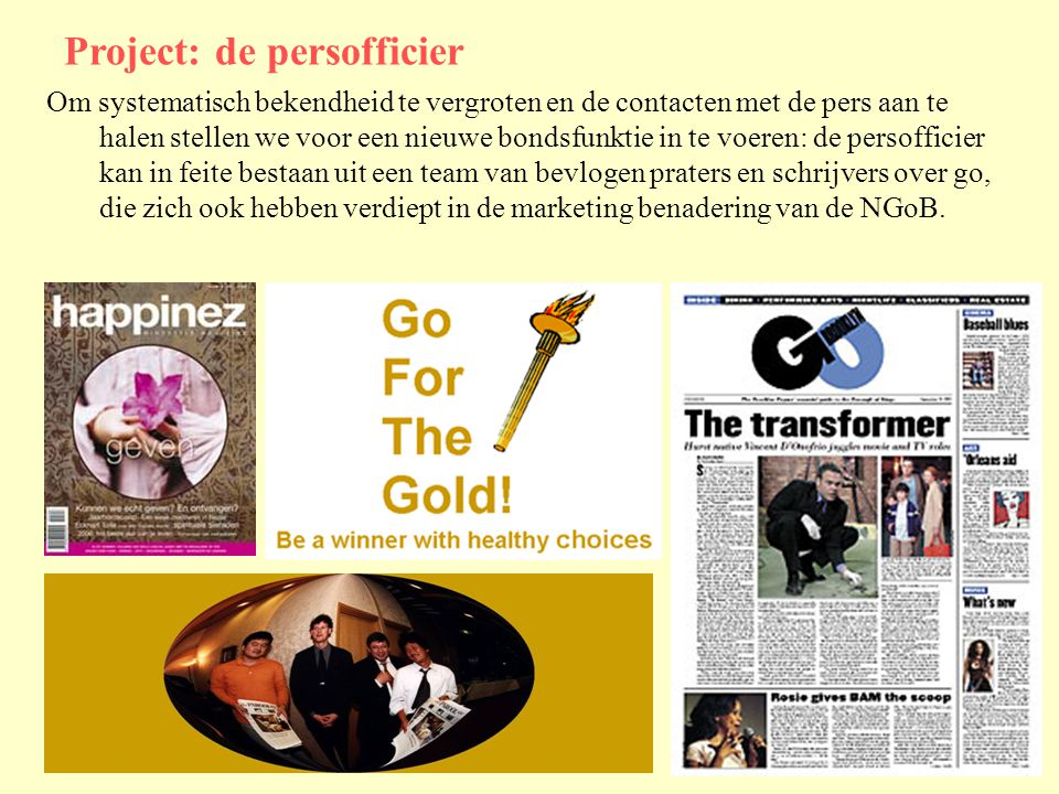 Project: de persofficier