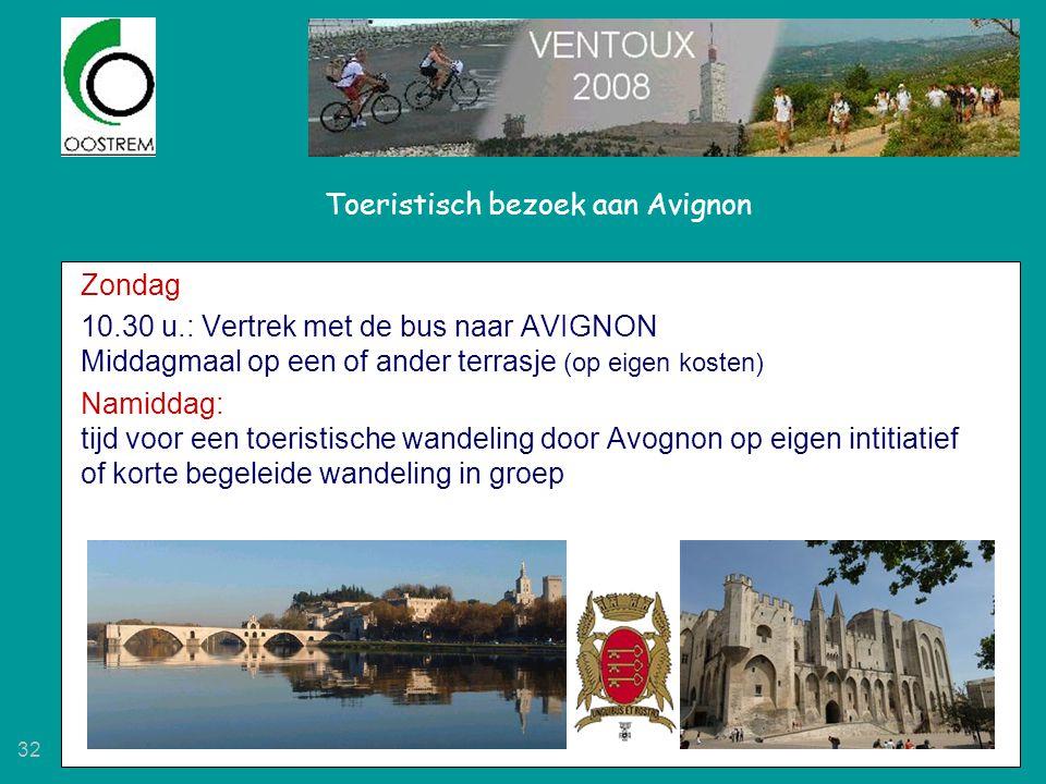 Toeristisch bezoek aan Avignon