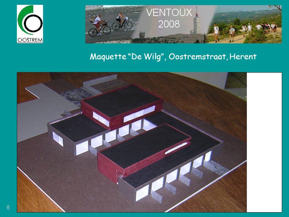 Maquette De Wilg , Oostremstraat, Herent