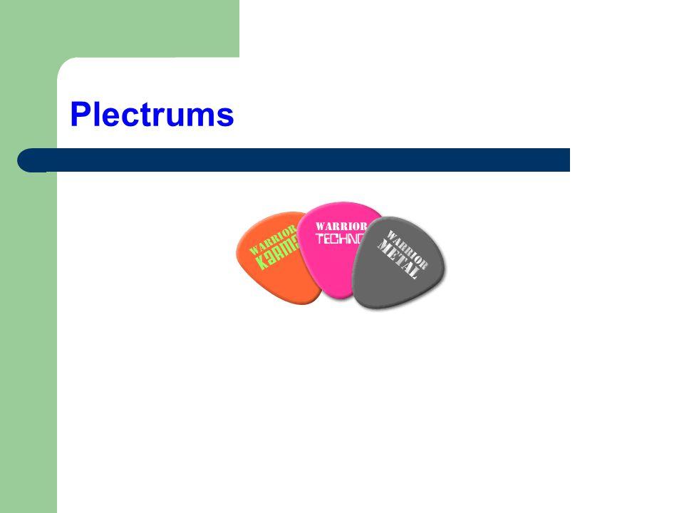 Plectrums