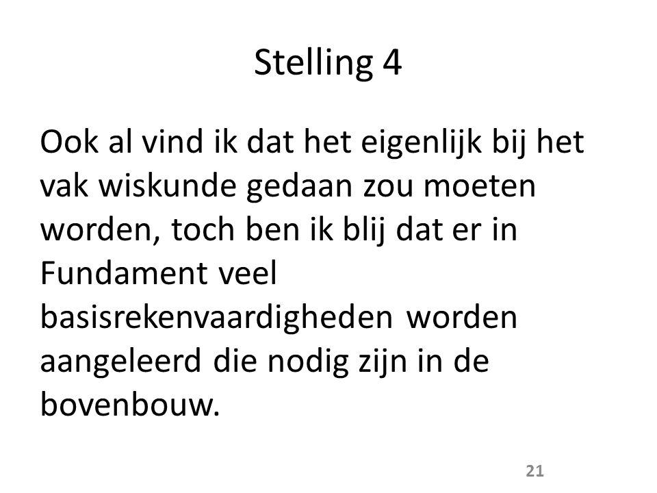 Stelling 4