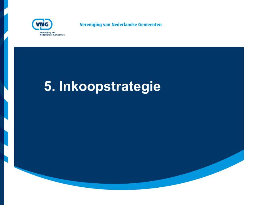 5. Inkoopstrategie