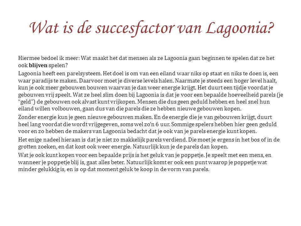 Wat is de succesfactor van Lagoonia