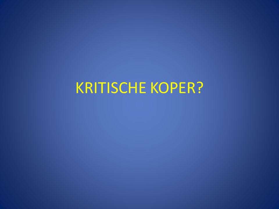 KRITISCHE KOPER