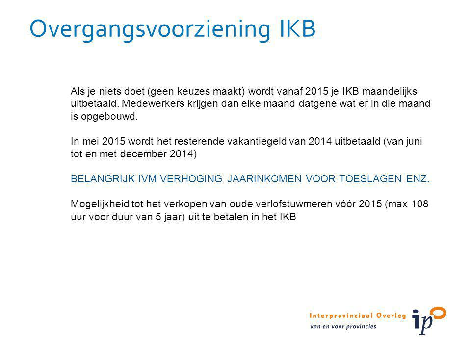 Overgangsvoorziening IKB