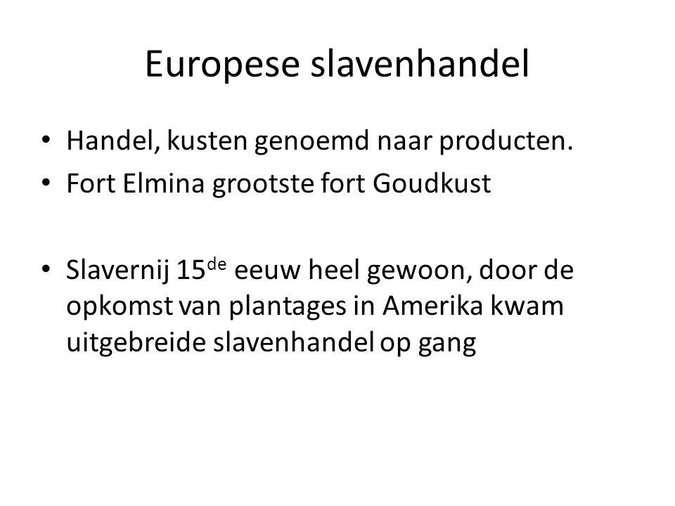 Europese slavenhandel