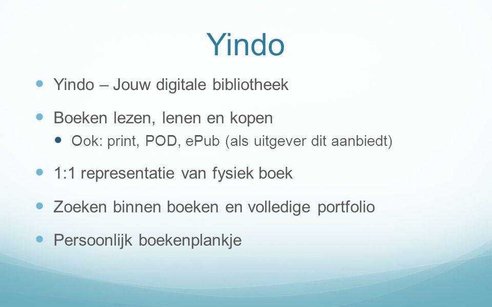 Yindo Yindo – Jouw digitale bibliotheek Boeken lezen, lenen en kopen