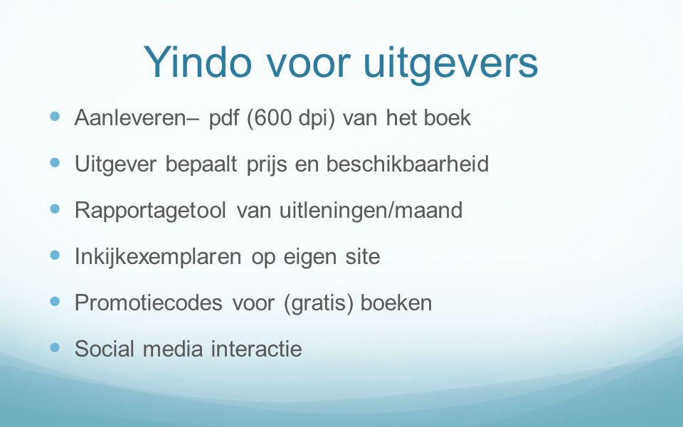 Yindo voor uitgevers Aanleveren– pdf (600 dpi) van het boek