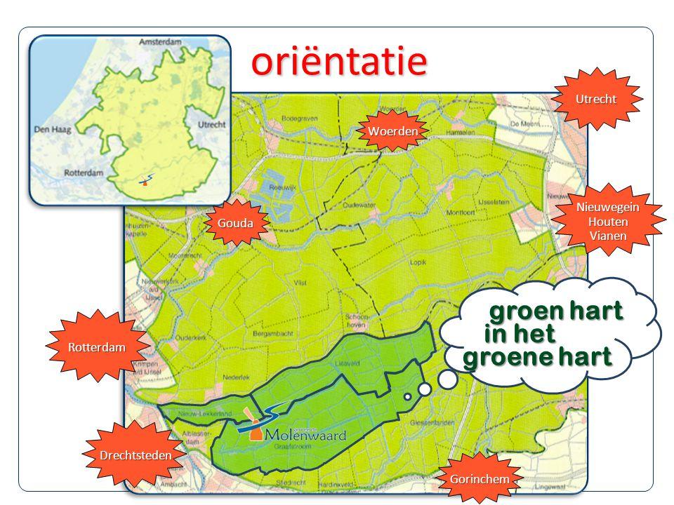 oriëntatie groen hart in het groene hart Utrecht Woerden Nieuwegein