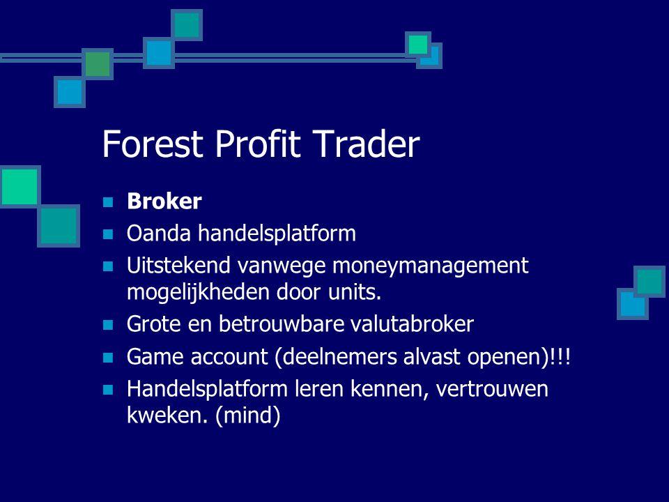Forest Profit Trader Broker Oanda handelsplatform