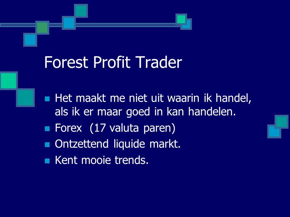 Forest Profit Trader Het maakt me niet uit waarin ik handel, als ik er maar goed in kan handelen. Forex (17 valuta paren)