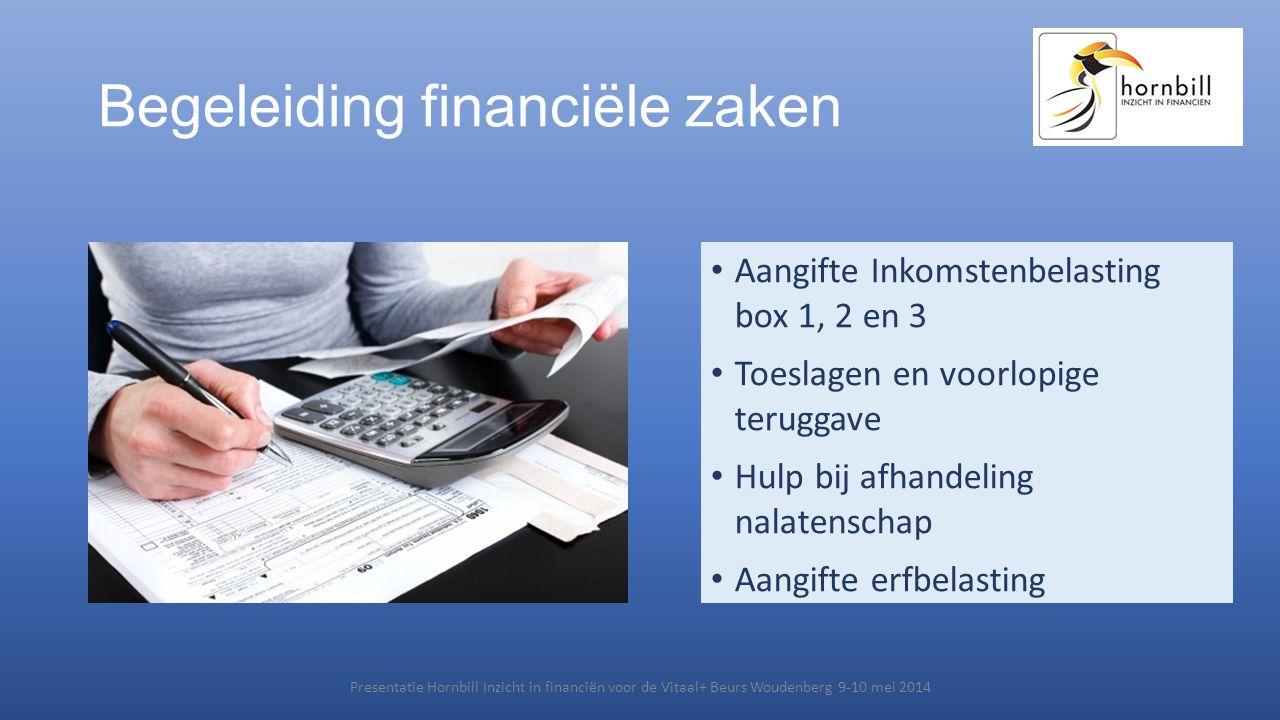 Begeleiding financiële zaken