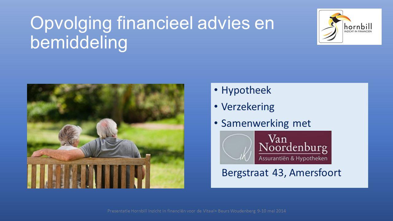 Opvolging financieel advies en bemiddeling