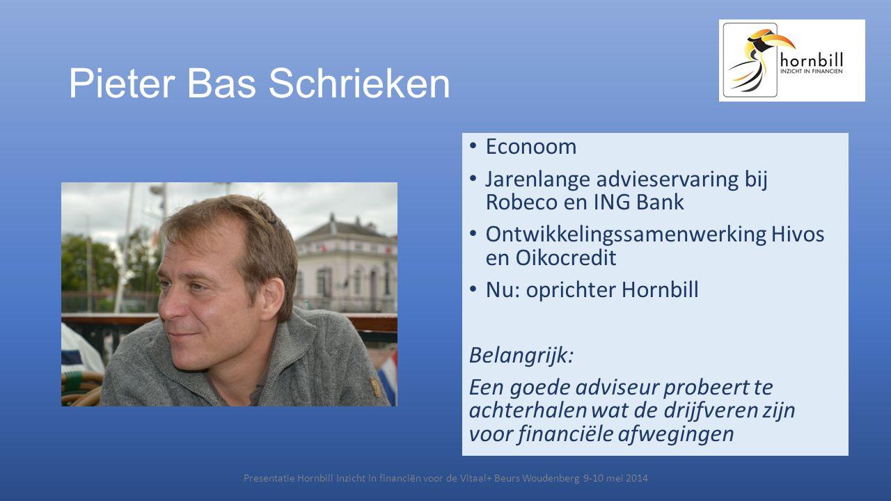 Pieter Bas Schrieken Econoom
